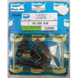 95590838 Рем.комплект тормозной колодки Citroen